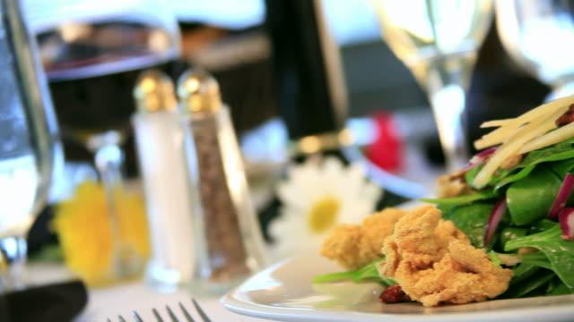 Gourmet Encrusted Calamari Salad video