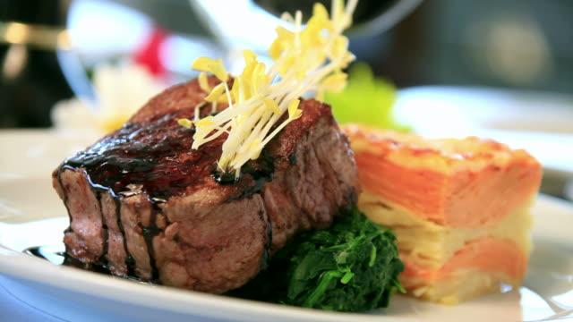 Gourmet Steak and Potatos video