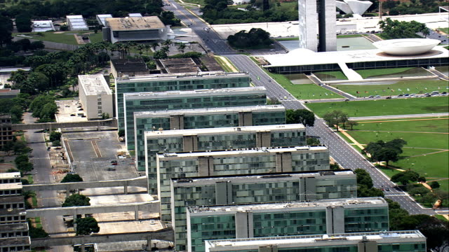Government Offices  - Aerial View - Federal District, Brasília, Brazil