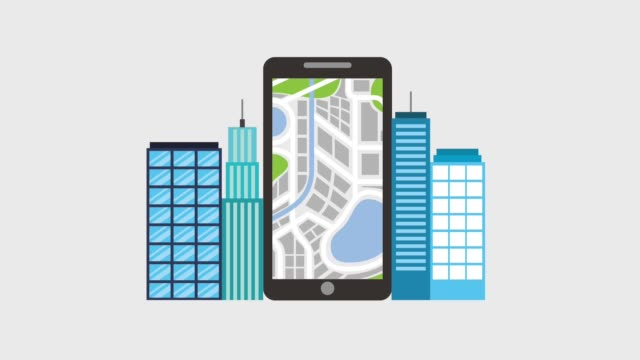 gps navigation application video