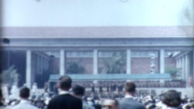 Graduation 1950's video