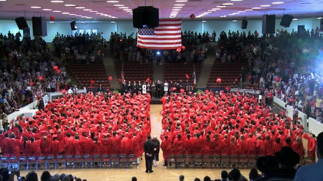 Graduation Cap Toss video