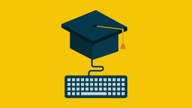 卒業アイコン設計、ビデオアニメーション ビデオ