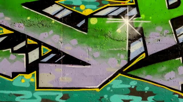 graffiti. stop motion. - painting wall bildbanksvideor och videomaterial från bakom kulisserna