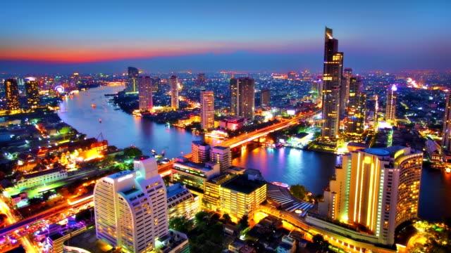 grand bangkok - bangkok stok videoları ve detay görüntü çekimi