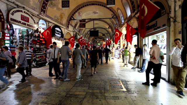 Grand Bazaar in Istanbul Grand Bazaar in Istanbul turkey stock videos & royalty-free footage