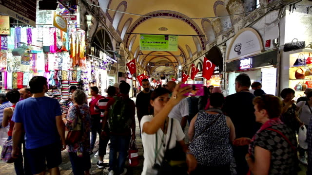 grand bazaar i istanbul - egyptisk kultur bildbanksvideor och videomaterial från bakom kulisserna