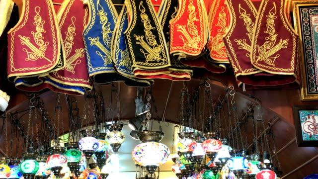 grand bazaar - grand bazaar video stock e b–roll