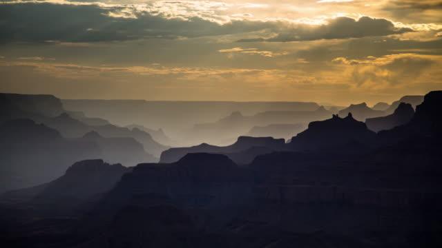 grand canyon von desert view lookout - zeitraffer - grand canyon stock-videos und b-roll-filmmaterial