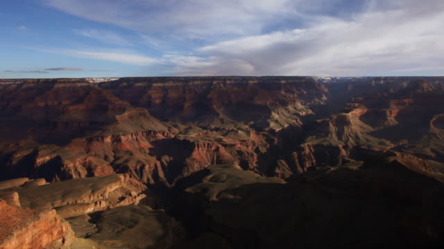 Grand Canyon morning time lapse video