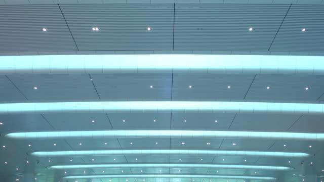 grand ceiling - soffitto video stock e b–roll
