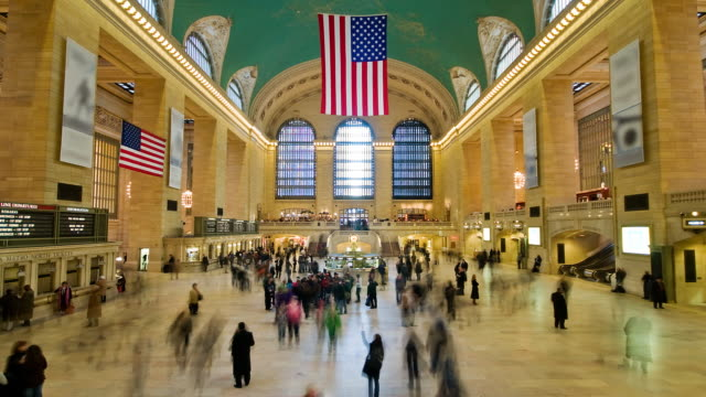 Grand Central Statio NYC - 2 views video