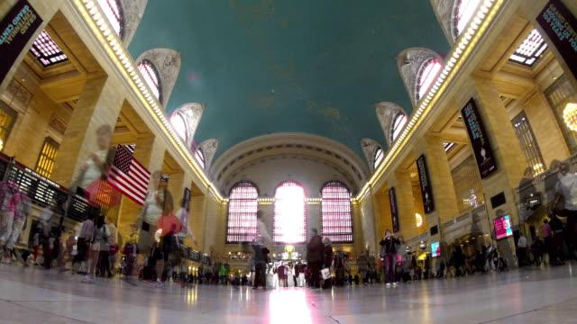 TL: Grand Central Station, New York City, USA video