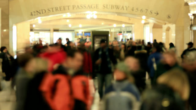 Grand Central Station Time Lapse People video