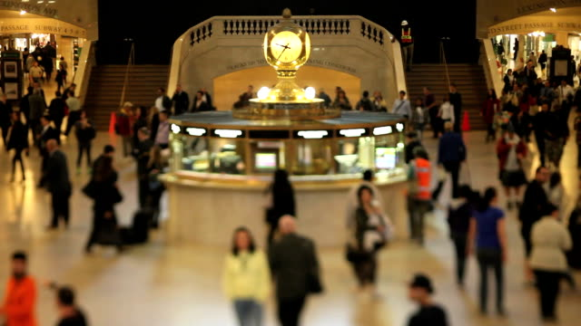 Grand Central Station (Tilt Shift Lens) video