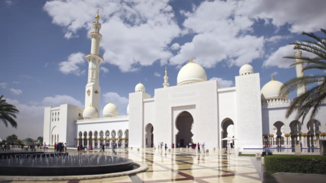 Grand Mosque Abu Dhabi Timelapse