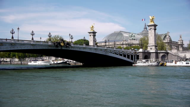Grand Palais and pont Alexandre III. Paris, France