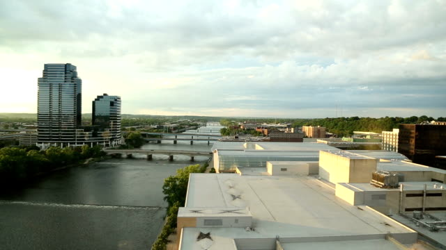 Grand Rapids Time Lapse Sky Line video