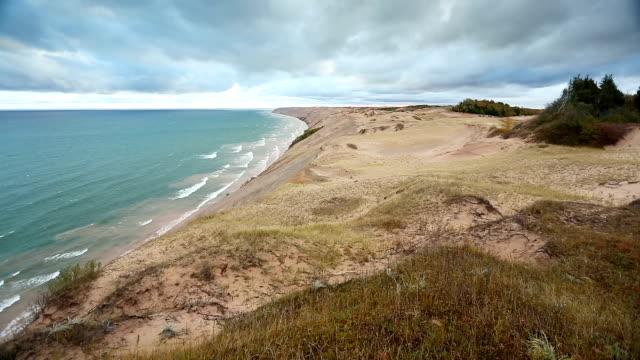 grand sable dunes loop - riserva naturale parco nazionale video stock e b–roll