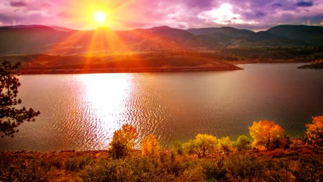 Grand sunset and nature