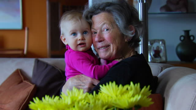 Grandmother and Granddaughter 1 video