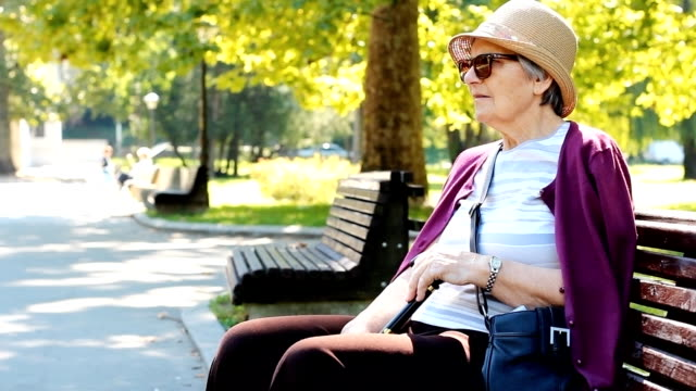 Grandmother portrait video