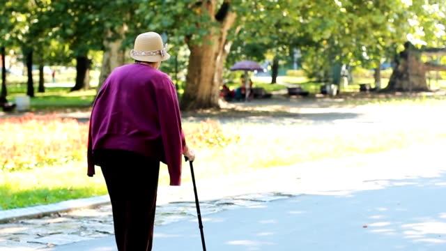Grandmother Walking video