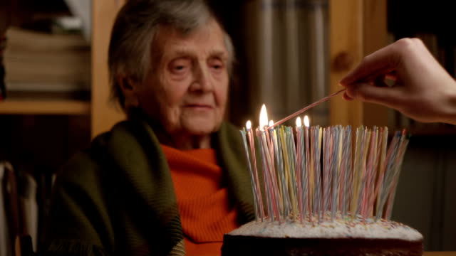 grandmother's 100th birthday video