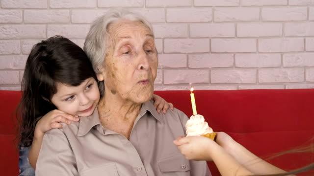 Grandmother's birthday. video