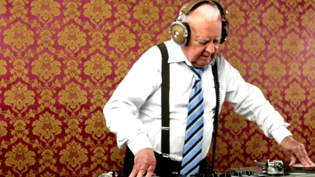 grandpa dj video