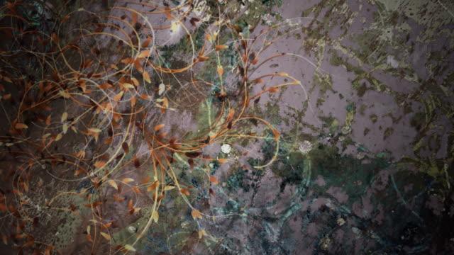 Grange background with plants 3 - HD, Loop video