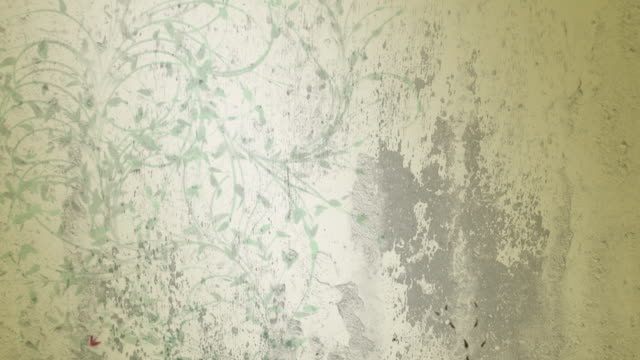 Grange background with plants - HD