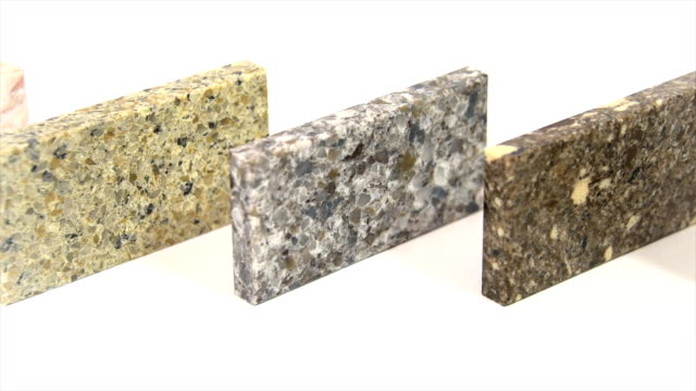 granite counter tops made of natural stone, kitchen worktops video