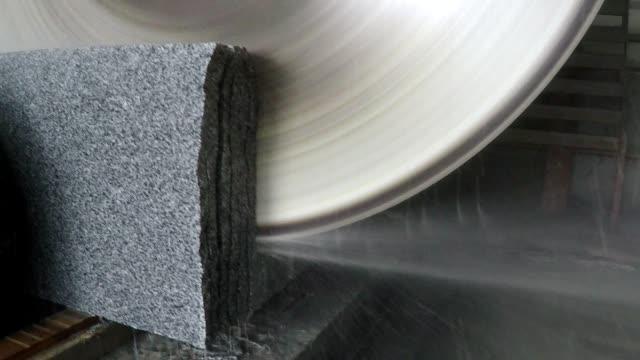 granit från fabrik. - mineral bildbanksvideor och videomaterial från bakom kulisserna