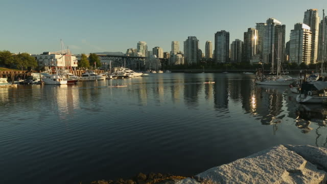 Granville Island Marina and Kayaks, Vancouver video