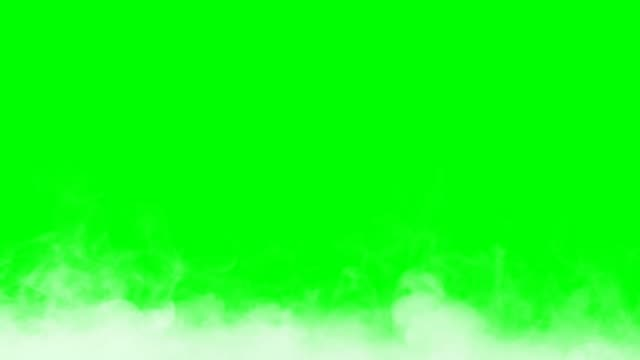 Graph of thick smoke motion. Smoke effect or cloud effect on the green screen. can be used as a transition Graph of thick smoke motion. Smoke effect or cloud effect on the green screen. can be used as a transition environmental conservation stock videos & royalty-free footage