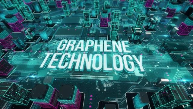 stockvideo's en b-roll-footage met grafeen technologie met digitale technologie concept - new world