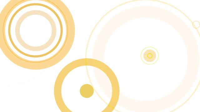 Graphical Ripple Orange HD-LOOP video