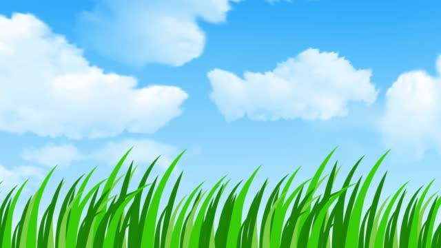 Grass animation