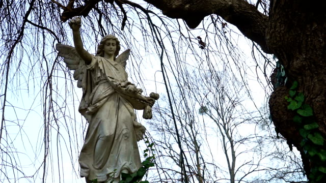 Grave Angel Under Weeping Willow video