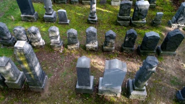 Graveyard Arial video video