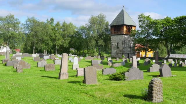 graveyard near oslo, norway video