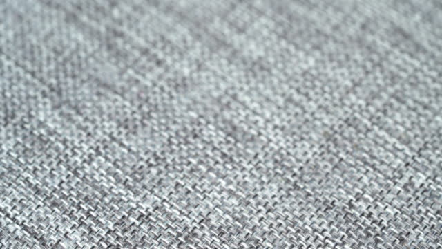 Gray Fabric texture background.tilt shot UHD 4k video