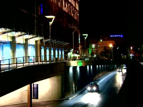 graz by night - styria stok videoları ve detay görüntü çekimi