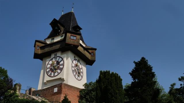 klocktornet i graz - steiermark bildbanksvideor och videomaterial från bakom kulisserna