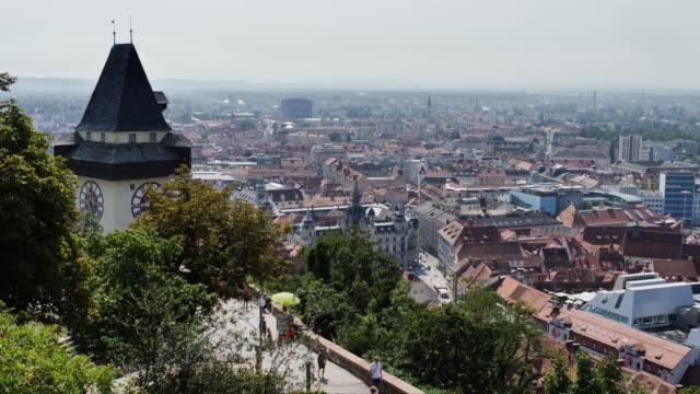 graz panorama - steiermark bildbanksvideor och videomaterial från bakom kulisserna