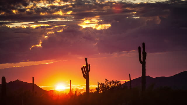 great american desert at dusk - time lapse - sunset stock videos & royalty-free footage