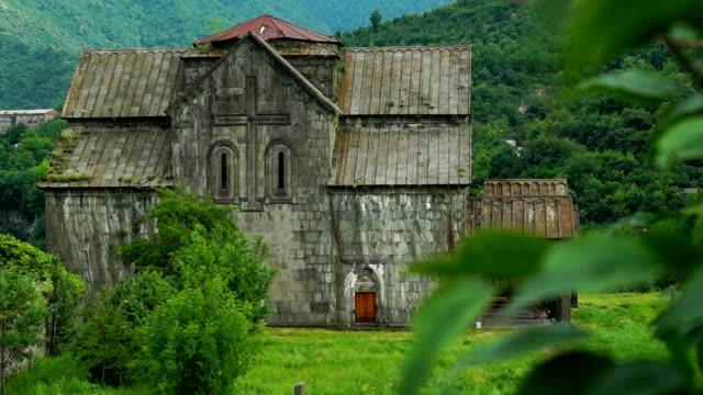 Great ancient armenian monastery Akhtala video