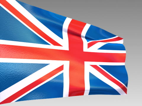 vídeos y material grabado en eventos de stock de bandera de gran bretaña-ntsc - accesorio financiero