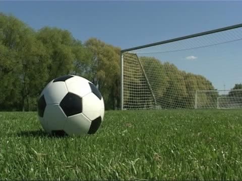 素晴らしいの目標 - サッカークラブ点の映像素材/bロール
